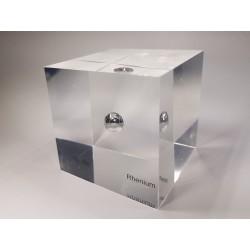Acrylic cube Rhenium