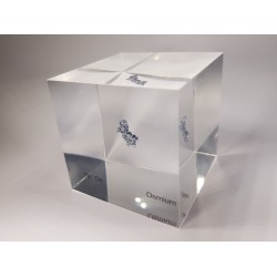 Acrylic cube Osmium