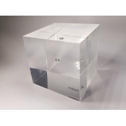 Acrylic cube Iridium