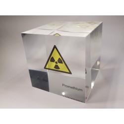 Acrylic cube Promethium