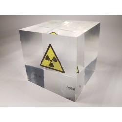 Acrylic cube Astatine