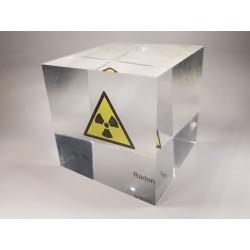 Acrylwürfel Radon