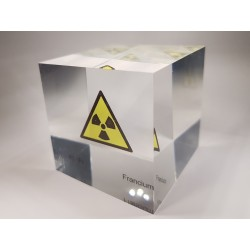 Acrylic cube Francium