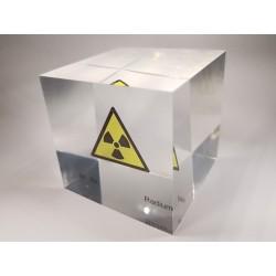 Acrylic cube Radium