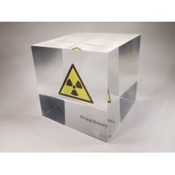 Acrylic cube Protactinium