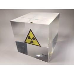 Acrylic cube Uranium