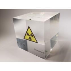 Acrylic cube Neptunium