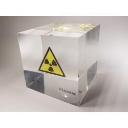 Acrylic cube Plutonium