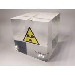 Acrylic cube Americium