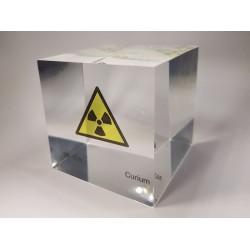 Acrylic cube Curium