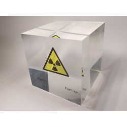 Acrylic cube Fermium