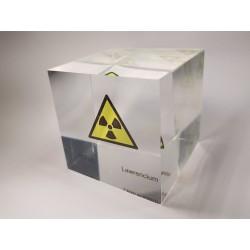 Acrylic cube Lawrencium