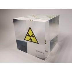 Acrylic cube Dubnium