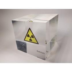 Acrylic cube Bohrium