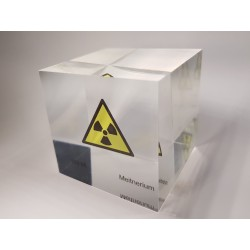 Acrylic cube Meitnerium