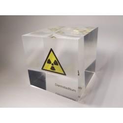 Acrylic cube Darmstadtium