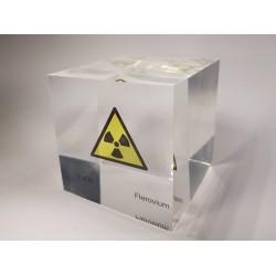 Acrylic cube Flerovium