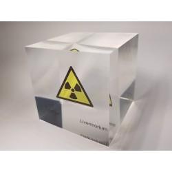 Acrylic cube Livermorium