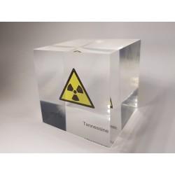 Acrylic cube Tennessine