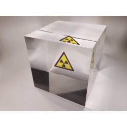 "Acrylic cube ""Radioactive..."