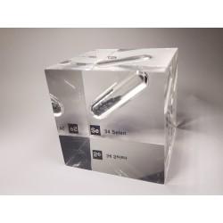 Acrylic cube Selenium