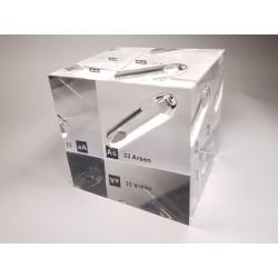 Acrylic cube Arsenic