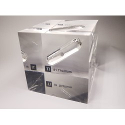Acrylic cube Thallium