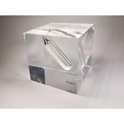 Acrylic cube Argon