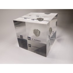 Acrylic cube Antimony