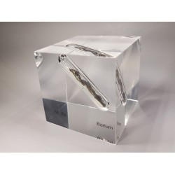 Acrylic cube Barium