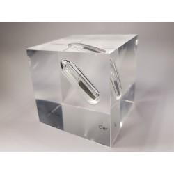 Acrylic cube Cerium