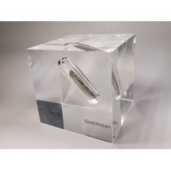 Acrylic cube Gadolinium