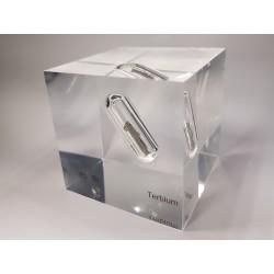 Acrylic cube Terbium