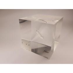 Acrylic cube Fluorine