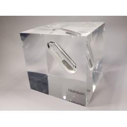 Acrylic cube Holmium