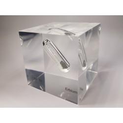 Acrylic cube Erbium
