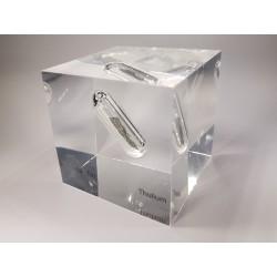 Acrylic cube Thulium