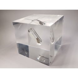 Acrylic cube Ytterbium