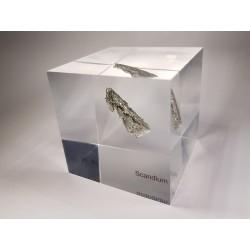 Acrylic cube Scandium
