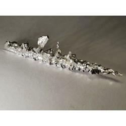 Silver crystal, 4.87g, 99.995%