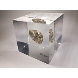 Acrylic cube Manganese