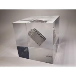 Acrylic cube Iron