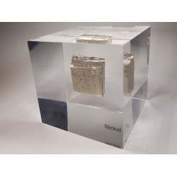 Acrylic cube Nickel