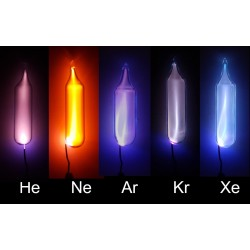 Set of all noble gases 10mm