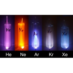 Set of all noble gases in...