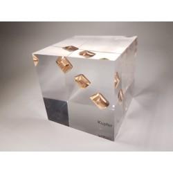 Acrylic cube Copper
