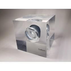 Acrylic cube Gallium