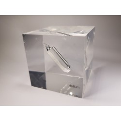 Acrylic cube Helium