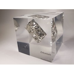 Acrylic cube Zirconium