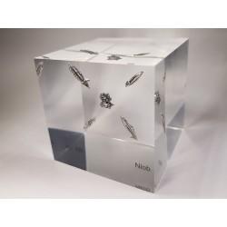 Acrylic cube Niobium